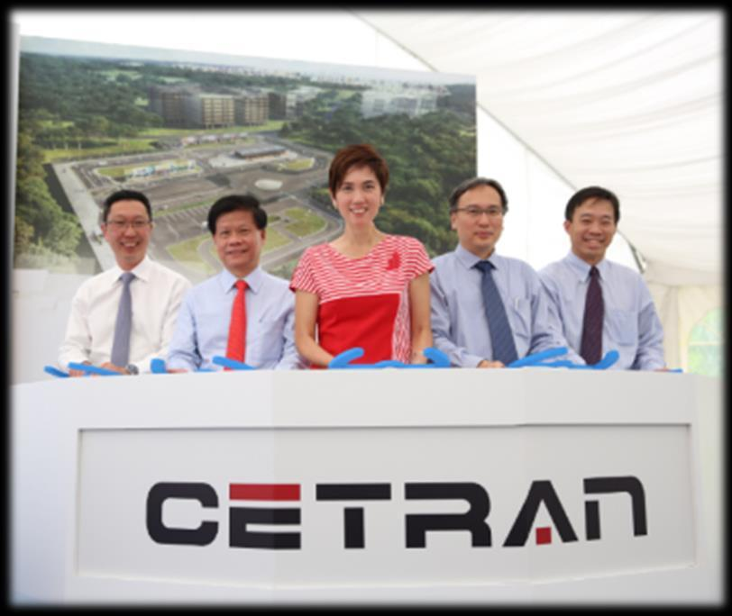 Launch of Centre of Excellence for Testing & Research of AVs-NTU