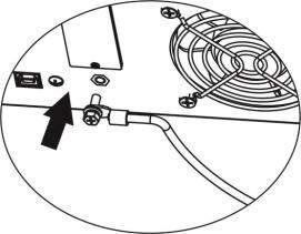 Step 6: For safe operation, please use one more wire with ring terminal to connect grounding. Refer to Chart 3.