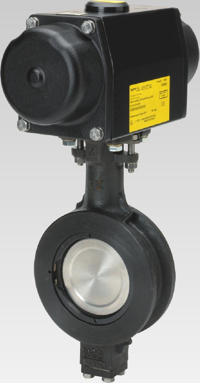 310 Wafer high performance butterfly valve 312 Lugged high performance butterfly valve Features and Benefits Uninterrupted gasket surfaces help eliminate problems associated with seat retaining