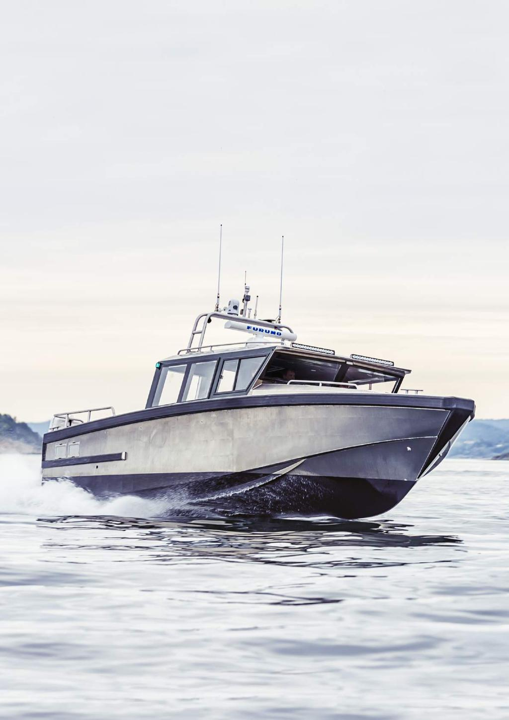 Swede Ship Marine builds professional and exclusive boats for the most demanding