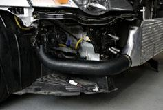 Fit the right hand side lower intercooler pipe to the