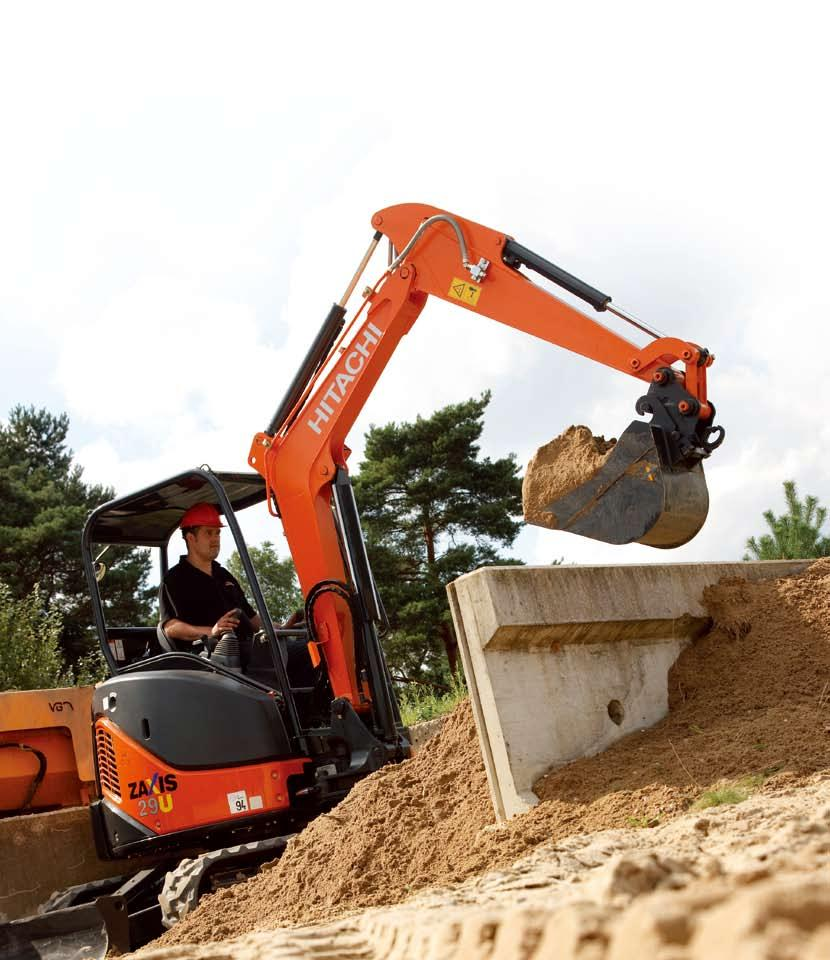 ZAXIS-3 series Short-tail-swing version HYDRAULIC EXCAVATOR Model Code: ZX29U-3 Engine