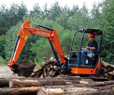 Advances in Hitachi Design Prowess for Diverse Job Needs The Hitachi new ZAXIS-U3 Series comes with a host of refinements and tougher body for higher durability and productivity.