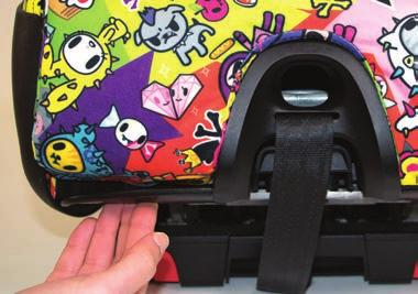 Remove Seat Cushion Unfasten the locking tabs at the lower front edge of the