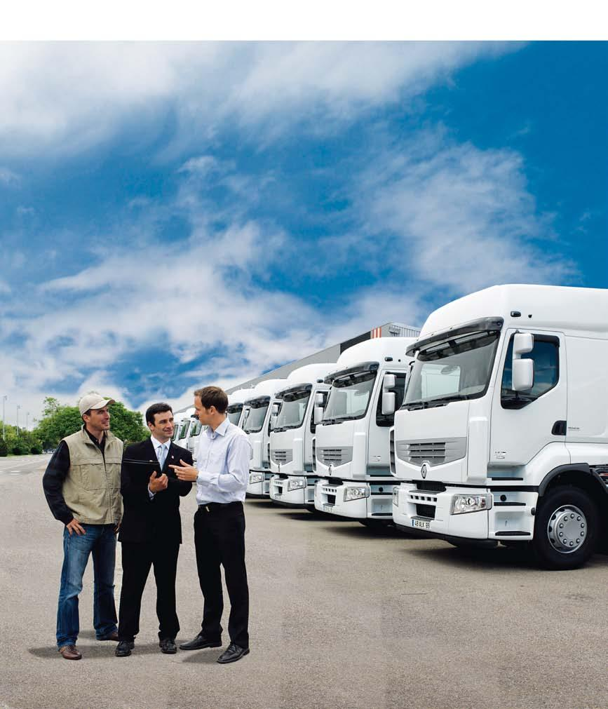 RENAULT TRUCKS DELIVER OPTIFUEL INFOMAX