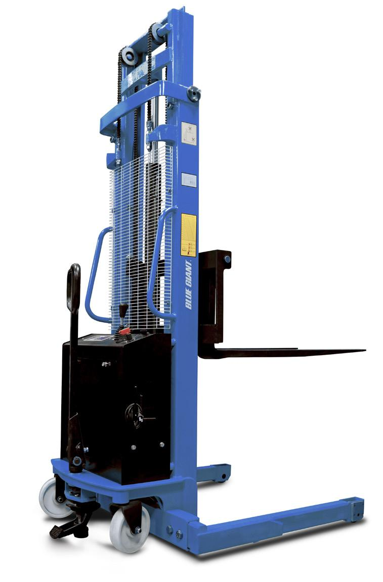 OPERATOR S MANUAL XPS-22 SERIES ELECTRIC MANUAL STACKER ACTUAL PRODUCT MAY NOT APPEAR EXACTLY AS SHOWN WARNING Do not operate and / or service this product unless you have read