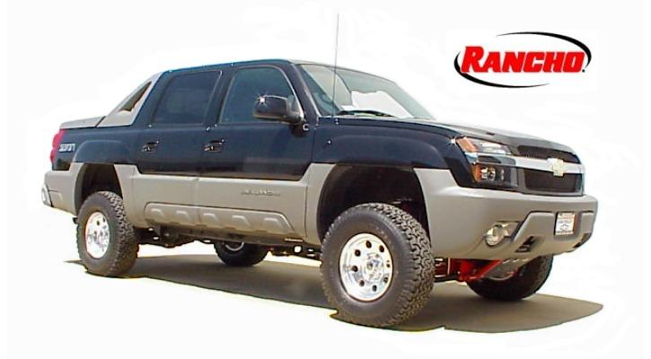 INSTALLATION INSTRUCTION 88146 Rev H FOR RANCHO SUSPENSION SYSTEM RS6547: 4WD SUBURBAN/YUKON XL, 4WD TAHOE/YUKON, & 4WD AVALANCHE READ ALL INSTRUCTIONS THOROUGHLY FROM START TO FINISH BEFORE