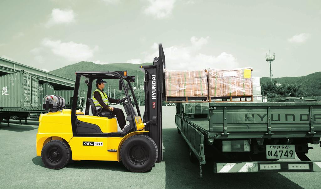 FORKLIFT Excellent Model NEW criteria of Forklift Trucks introduces a new line of 7A series G