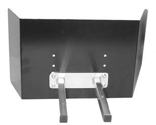 Slide knee bar onto knee bar mounting tube and secure with black adjustment knobs (Figure 10). 9.