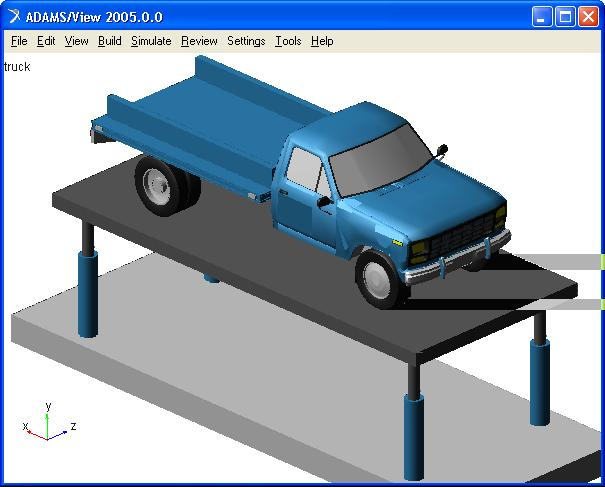 4 Fig. 2: virtual prototype of the light-duty truck (full-vehicle assembly).