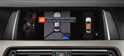 Reversing Assist camera gives you a clear view to the rear Park Distance Control provides visual and auditory feedback on objects during reversing Park Assist selects and