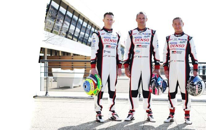 Interview: #6 Drivers Stéphane Sarrazin Mike Conway Kamui Kobayashi The new car is definitely a good step forward.