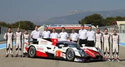 With the TS030 HYBRID, Toyota faced tough competition against the latest hybrid racing cars of the world s leading automobile manufacturers.