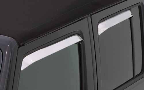 paint code Color-Match finishes (3-year Warranty) Ventshade Ledge Profile Installs in the window
