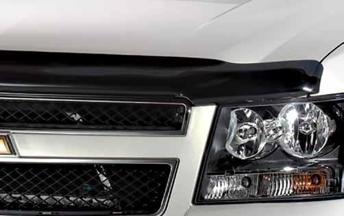 Hood Protection Bugflector High profile for Trucks, SUVs and Vans Provides deflection to protect hood