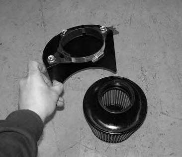 intake. Failure to follow proper mainentance procedures may cause damage to the intake and will void the warranty. 4.