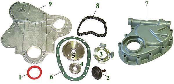 00 Camshaft Sprocket $82.65 Governor Weight Assembly $82.50 Cup & Shaft $42.12 Governor Shaft oil seal $42.50 In tractor kit 1) Contains pistons, Liners, Gaskets, B.E.