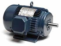 Guaranteed efficiencies offer an extra Return on your Investment when using these premium efficiency motors on high cycle or long run time applications.
