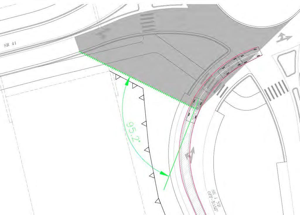 SR 1/ SR 41/ Main Street ICE Step II Comments Review Design Memo During the meeting it was also requested to verify the angle of visibility for the driver on the NB off-ramp as part of the