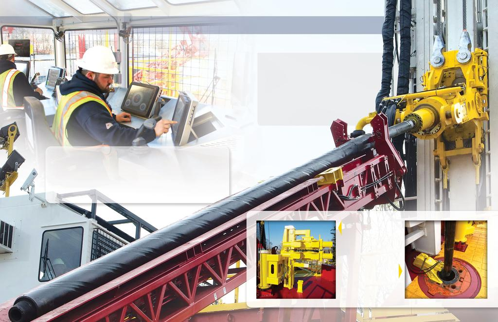 Safety FIRST Best in Class Features Offer Unparalleled Safety & Automation LOADSAFE XD provides class leading automated pipe handling for drill pipe, drill collars and casing.