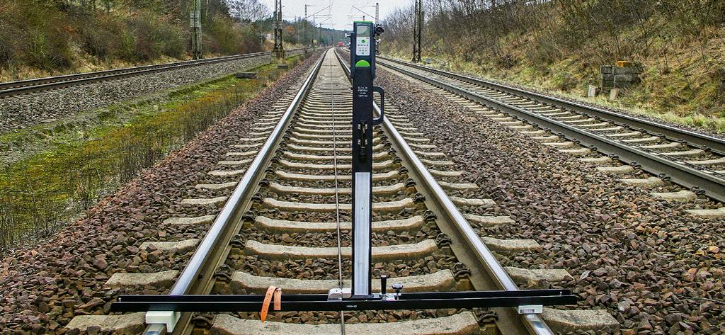 Catenary Laser Measuring Device Modern high-speed trains travel at up to 350 km/h (217 mph).