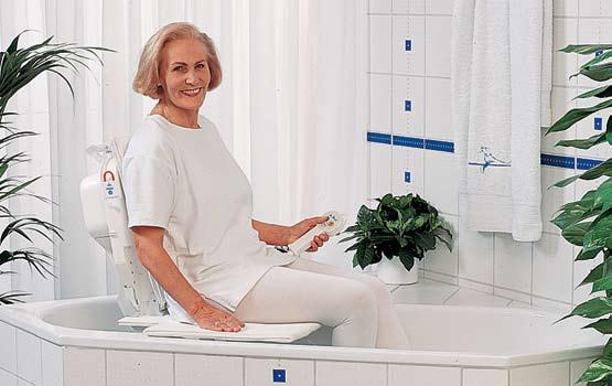 The Akkulift Bathlift Simplicity, Safety and Comfort The Akkulift Bathlift offers freedom to people who need help bathing.