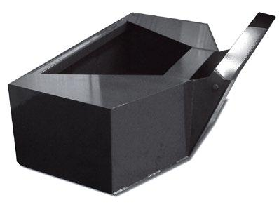 Concrete/Cement Bucket Our concrete bucket is designed for carrying and placing concrete using your skid steer.