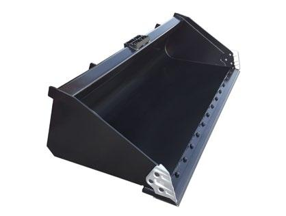 Shown with Optional teeth Industrial Track Loader Bucket The Industrial Track Loader Bucket is a comparable alternative to your track loader OEM bucket with some upgrades.