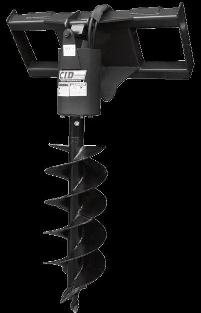 X-treme Auger Drive Our X-treme Auger Drive has an continuous pressure rating of 3000 psi and a intermittent pressure of 4000 psi.
