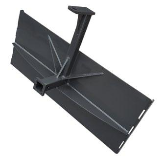 Receiver Hitch Our receiver hitch makes it easy to move trailers around the yard using your skid