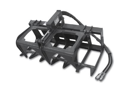 "Mini Skid Steer Attachments Dingo/Boxer/Ramrod/Ditch Witch/Thomas/MT50/MT52/ MT55/Bobcat 463 Attachments Root Grapple, 44"" Our mini skid steer Root Grapple is perfect for the compact tractor."
