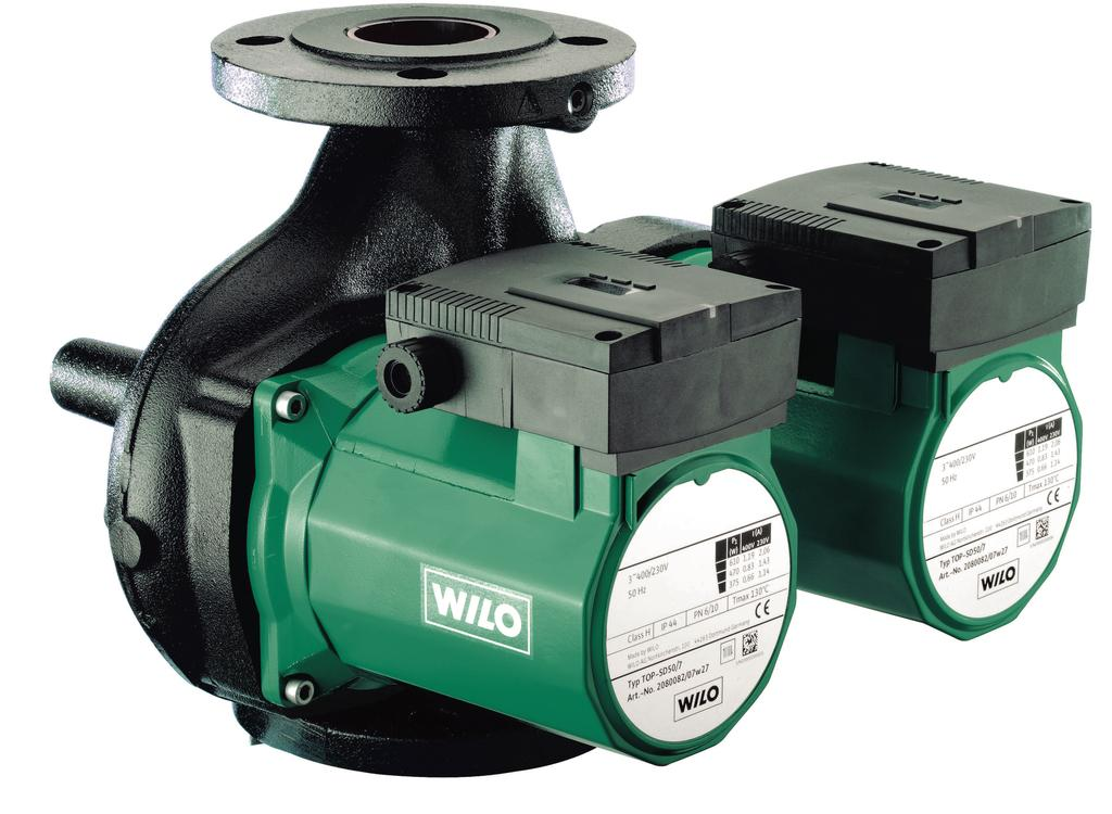ATAC Solutions 1622 8824 / Series description: Wilo-TOP-STGD Wilo-TOP-STGD 15 4/ 1 5 Design Glandless double circulation pump with flange connection.