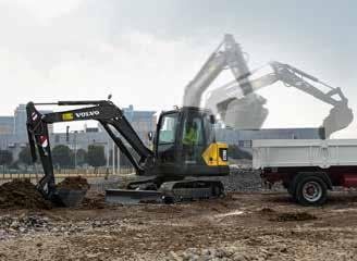 A machine you can rely on Volvo s EC55D high quality compact excavator is designed to work harder for longer.