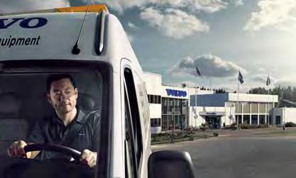services. Volvo uses the latest technology to monitor machine operation and status, giving you advice to increase your profitability.