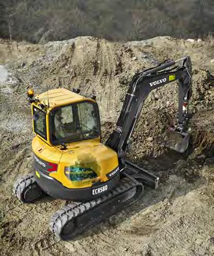 Whether you re working in the road construction, utilities, landscaping or any other application, the ECR58D gives you