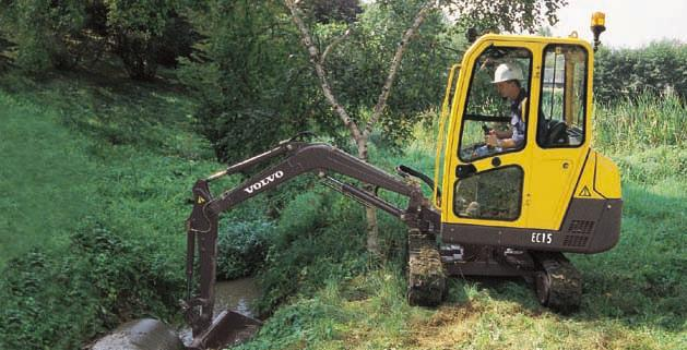 Variable-width chassis : two machines in one With the variable-width chassis Volvo offers you the possibility of choosing at