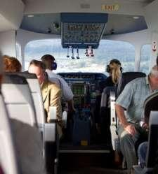 The cabin can accommodate 2 pilots and