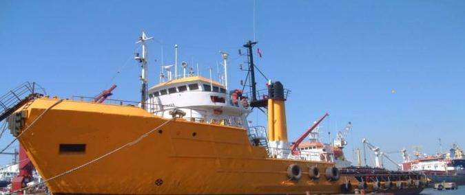 Reference : OSV 5911/65 : Offshore Support vessel Yob : 1965 : Lloyd s : 59.80 x 11.70 x 5.1 mtr : 4.