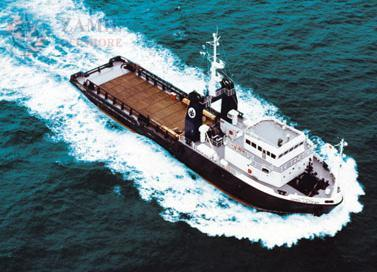 Reference : OSV 5912/82 (sister vessel available) : Supply vessel Yob : 1982 : ABS : 59.95 x 12.5 x 5.0 mtrs : 4.26 mtrs summer draft GRT/NRT/DWT : 944.