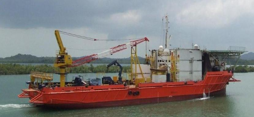 Reference : OSV 721876 : Offshore support vessel Yob : 1976 (rebuilt 2003 / 2008) : DNV : 72.80 x 18.00 x 7.20 mtr : 4.