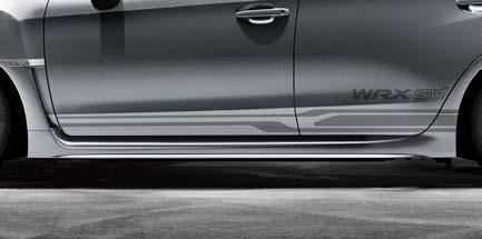 sporty image and accentuate the rear spoiler.