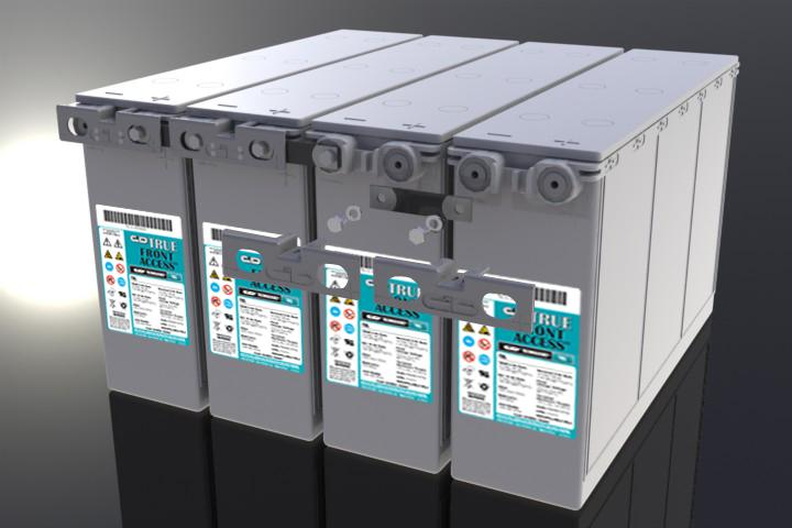 III. Storage Instructions Store batteries in a clean, dry, cool area away from radiant heat sources. Recharge batteries in storage at least every 6 months or before their OCV declines to 12.48 VDC.