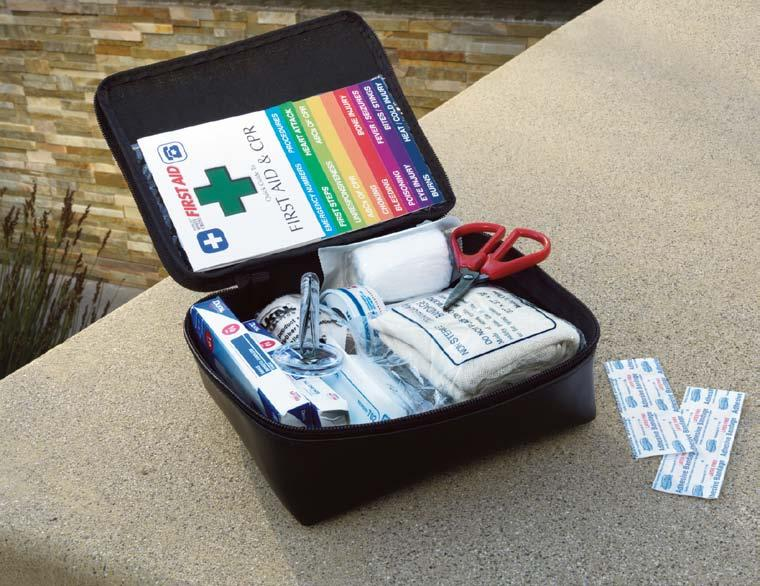Interior Accessories First Aid Kit (A) Be prepared for life s little emergencies.
