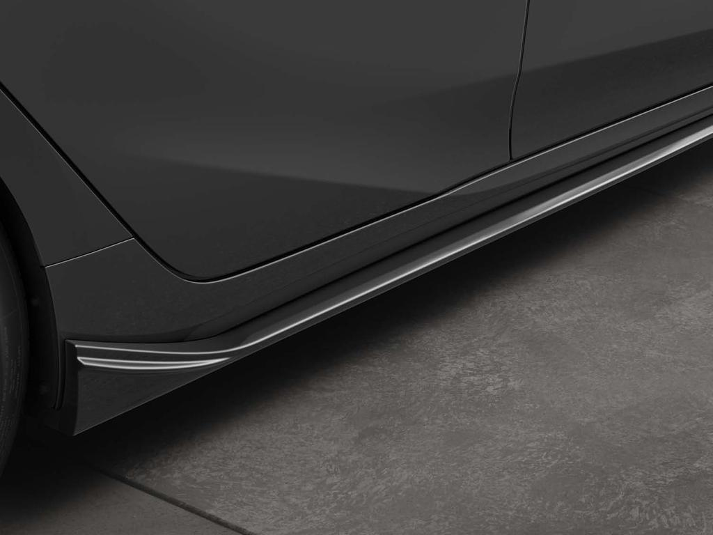 Aero Side Splitter Provides a stylish enhancement to your Prius Prime.