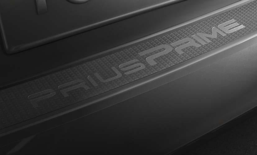Exterior Accessories Rear Bumper Appliqué (A) This nearly invisible appliqué helps protect the rear bumper s top