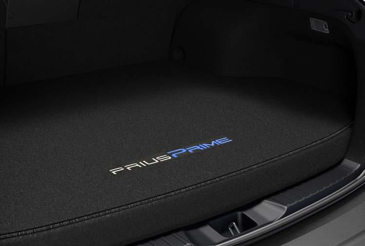 Interior Accessories Carpet Cargo Mat (A) The ideal solution for helping keep the cargo area of your Prius Prime looking like new.