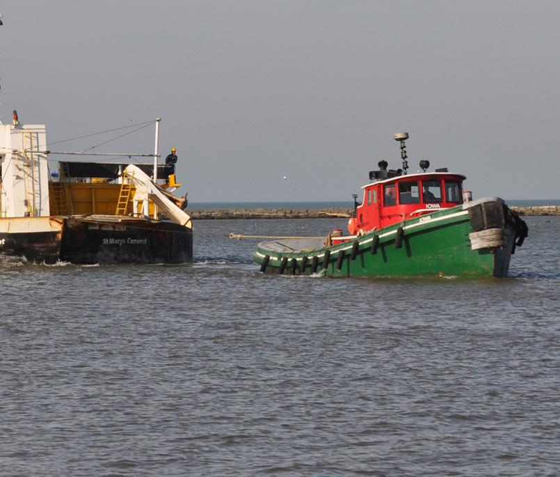 The Towing Company offers lakes-wide comprehensive harbor assist services with readily available round-the-clock tugs and crews, with backup capabilities.