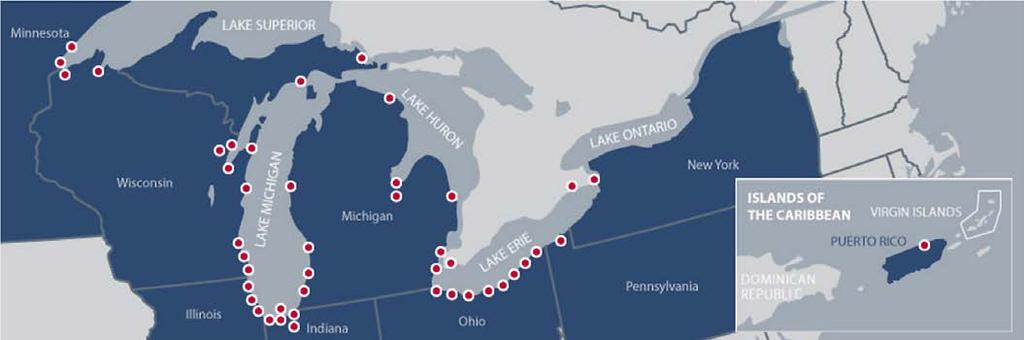 CONTACT US TO LEARN MORE ABOUT THE LARGEST AND MOST EXPERIENCED U.S.-FLAG TUGBOAT FLEET ON THE GREAT LAKES WITH 35 TUGS STATIONED IN 11 PORTS, SERVING MORE THAN 40 PORTS.