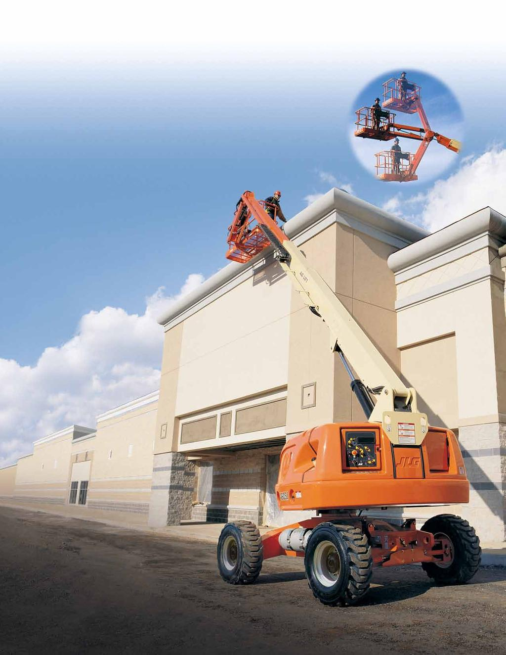 400 Series Telescopic Boom Lifts The Fastest Lift and Drive Speeds in Their Class. Experience a productivity boost with the 400 Series.