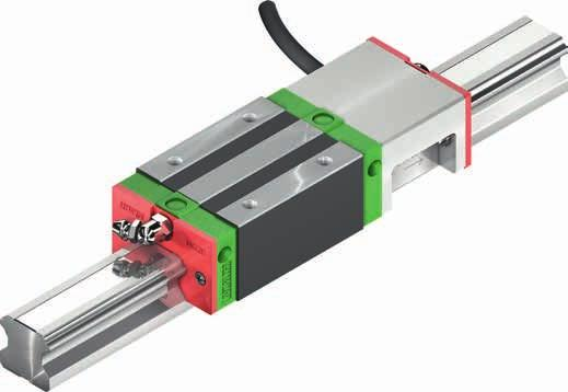 3.7 PG series 3.7.1 Properties of the linear guideways, series PG The HIWIN linear guideways of the PG series are a special type of the HG/QH series with the integrated, magnetic positioning